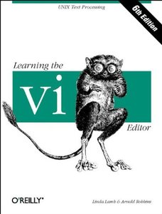 Learning the vi Editor, 6/e-cover