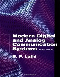 Modern Digital and Analog Communications Systems, 3/e-cover