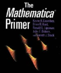 THE MATHAMATICA PRIMER 1998-cover