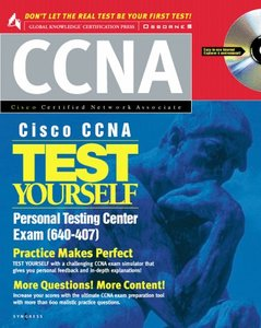 Cisco CCNA Test Yourself Personal Testing Center-cover