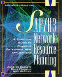 Network Resource Planning Using SAP R/3 BAAN and PeopleSoft-cover