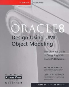 Oracle8 Design Using UML Objoct Modeling (Paperback)-cover