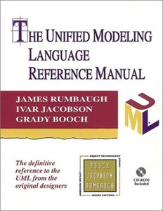The Unified Modeling Language Reference Manual-cover