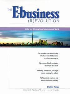The E-business Evolution (Paperback)-cover