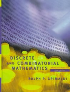 Discrete and Combinatorial Mathematics: An Applied Introduction, 4/e (精裝)-cover