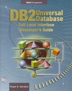 DB2 Universal Database: Call Level Interface Developer's Guide-cover