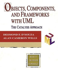Objects, Components, and Frameworks with UML: The Catalysis Approach-cover