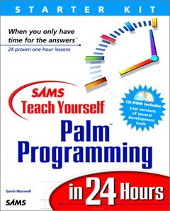 Sams Teach Yourself Palm Programming in 24 Hours-cover