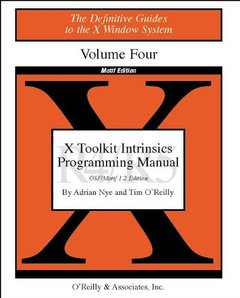 Volume 4M, X Toolkit Intinsics Reference Manual Motif Edition-cover