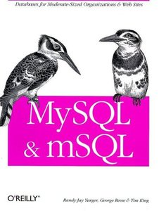 MySQL and mSQL-cover