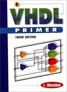 A VHDL Primer, 3/e-cover