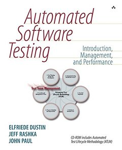 Automated Software Testing: Introduction, Management, and Performance-cover