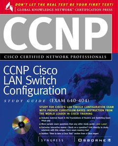 CCNP Cisco LAN Switch Configuration Study Guide: Exam 640-404-cover
