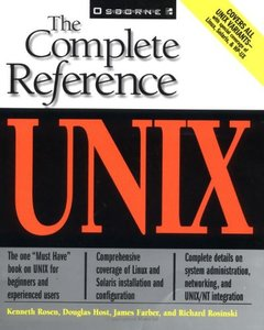 The Complete Reference: Unix-cover