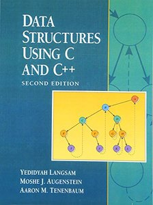 Data Structures Using C and C++, 2/e-cover