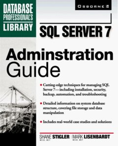 SQL Server 7 Administration-cover