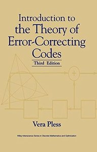Introduction to the Theory of Error-Correcting Codes, 3/e-cover
