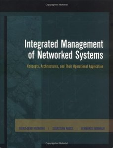 Integrated Management of Networked Systems (Hardcover)-cover