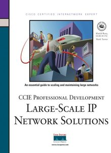 CCIE Professional Development Series-Large-Scale IP Network Solutions (Hardcover)-cover