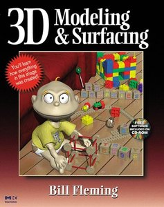 3D Modeling & Surfacing (Paperback)-cover