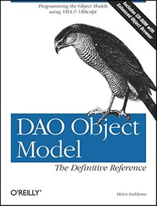 DAO Object Model: The Definitive Guide (Paperback)-cover
