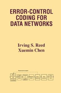 Error-Control Coding for Data Networks-cover