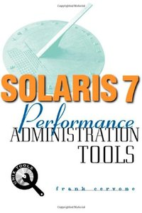 Solaris 7 Performance Aadministration Tools-cover