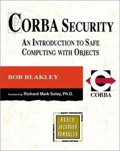 CORBA Security: An Introduction to Safe Computing with Objects (Paperback)-cover