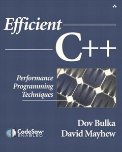Efficient C++: Performance Programming Techniques-cover