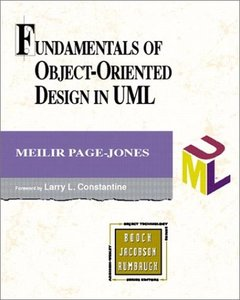 Fundamentals of Object-Oriented Design in UML-cover