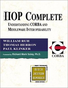 IIOP Complete: Understanding CORBA and Middleware Interoperability (Paperback)-cover