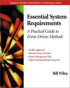 Essential System Requirements: A Practical Guide to Event-Driven Methods-cover