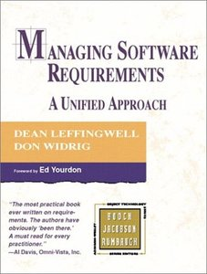 Managing Software Requirements: A Unified Approach-cover