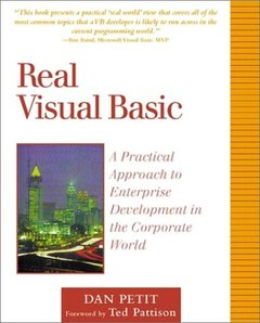Real Visual Basic: A Practical Approach to Enterprise Development in the Corpora-cover