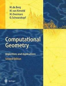 Computational Geometry: Algorithms and Applications, 2/e-cover
