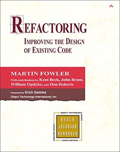 Refactoring: Improving the Design of Existing Code (Hardcover)-cover