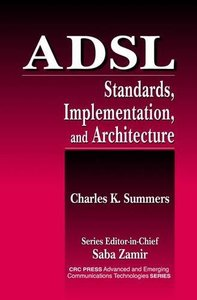ADSL: Standard, Implementation, and Architecture (Hardcover)-cover