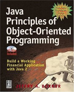 Java Principles of Object Oriented Programming-cover