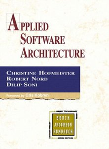 Applied Software Architecture (Addison-Wesley Object Technology Series) (Hardcover)-cover