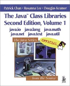 The Java Class Libraries, 2/e, Volume 1: Java.io, java.lang, java-cover