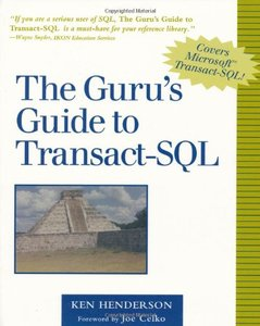 The Guru's Guide to Transact-SQL (Paperback)-cover
