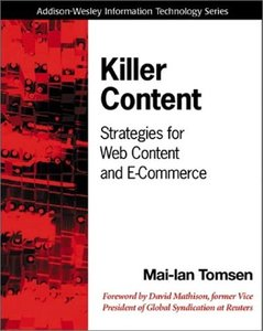Killer Content: Strategies for Web Content and E-Commerce-cover