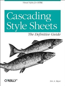 Cascading Style Sheets : The Definitive Guide (Paperback)-cover