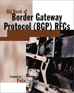 Big Book of Border Gateway Protocol (BGP) RFCs (Paperback)-cover