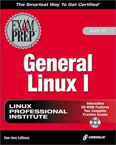 General Linux I Exam Prep-cover
