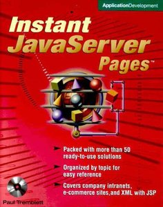 Instant Javaserver Pages (Paperback)-cover
