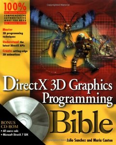Directx 3d Graphics Programming Bible-cover