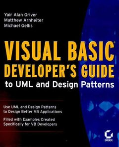 Visual Basic Developer's Guide to UML and Design Patterns-cover