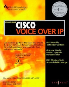 Configuring Cisco Voice Over IP (Paperback)-cover