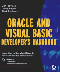 Oracle and Visual Basic Developer's Handbook, 4/e-cover